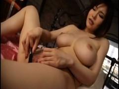 沖田杏梨が本気の自慰行為でイってるオな二ー動画